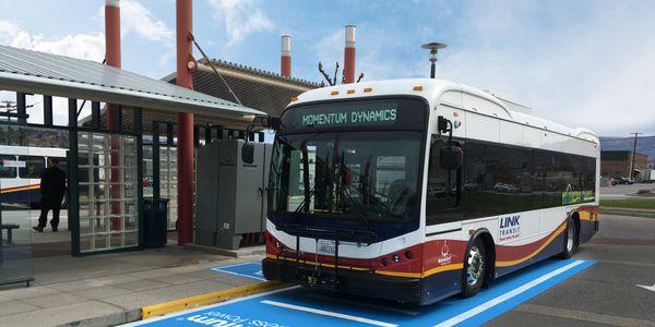 Wenatchee, Wash.'s Link Transit reaches wireless charging milestone