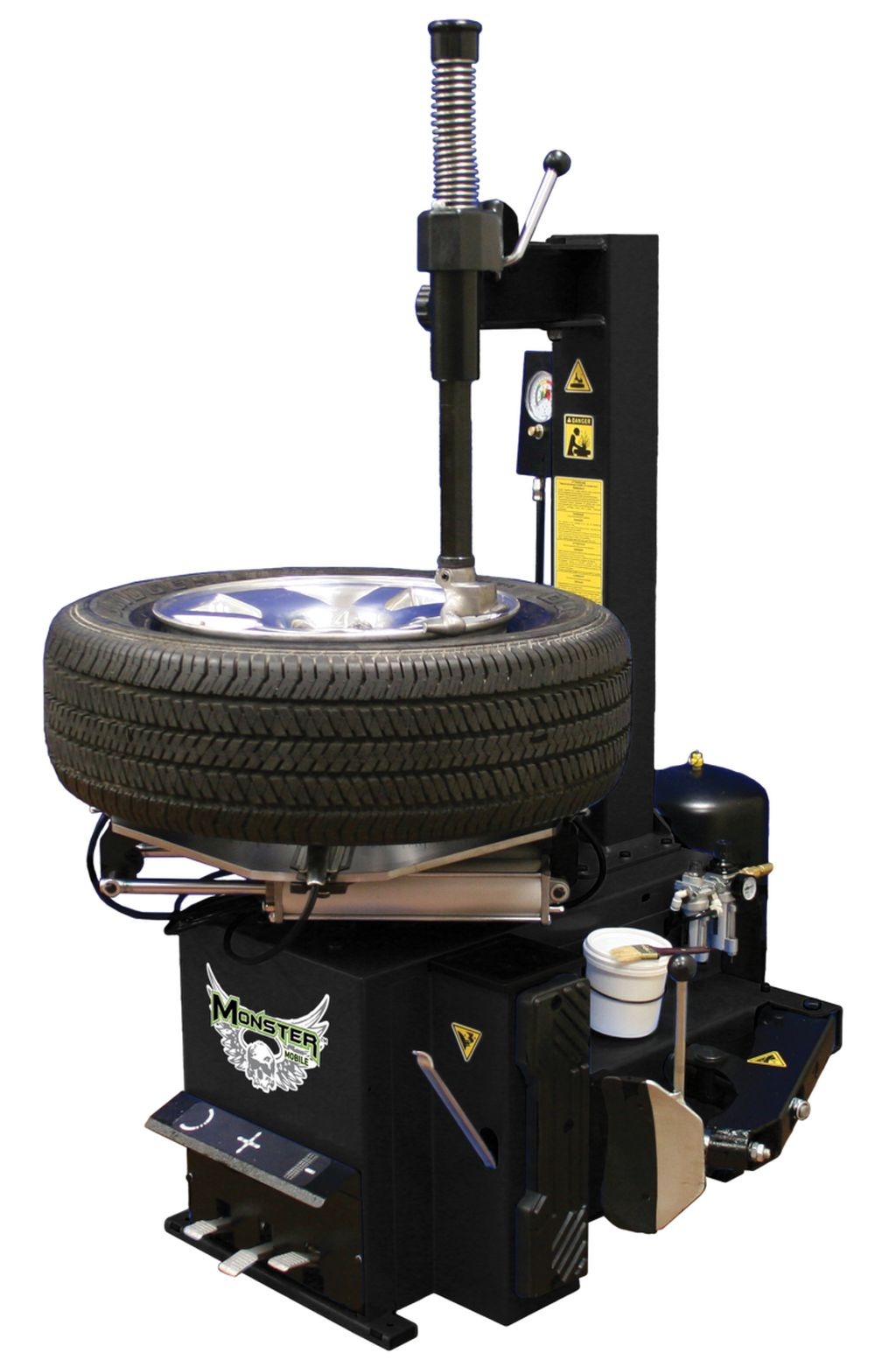New Swing Arm Tire Changer From Monster Brand