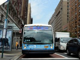 Similar to other SBS routes, the 86th Street route will feature three-door articulated buses...