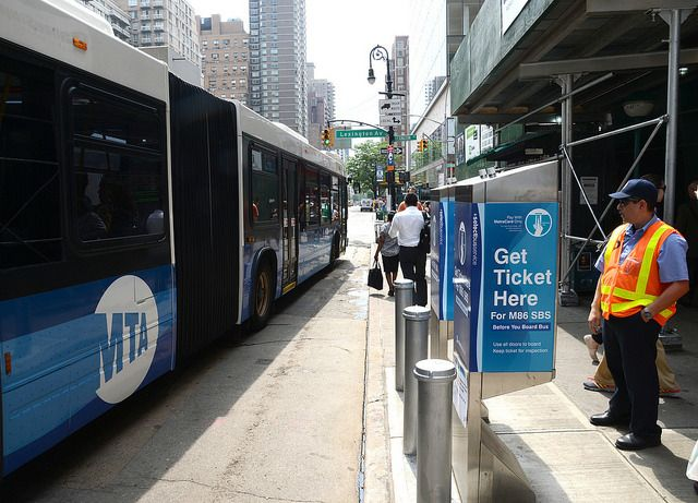 Design elements along this route include off-board fare collection, real-time passenger...