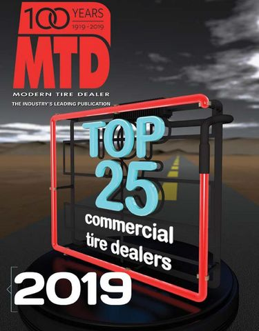 2019 Top 25 Independent Commercial Tire Dealers