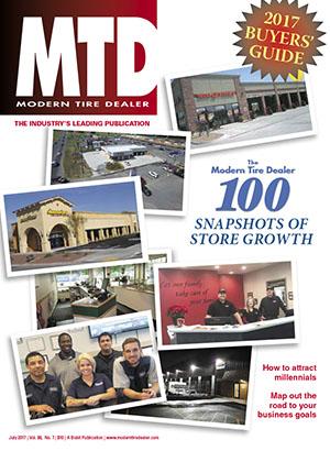 2017 Modern Tire Dealer 100