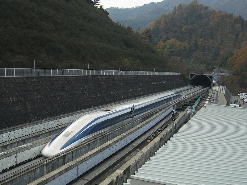 Is maglev rail Japan's 'Spruce Goose'?