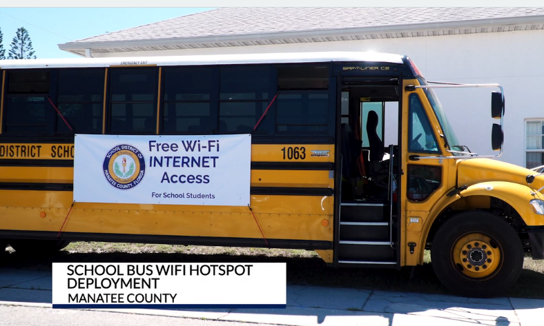 VIDEO: Florida District School Buses Bring Wi-Fi to Students
