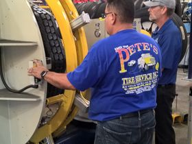 Pete's Road Service Converts Retread Operation to Marangoni