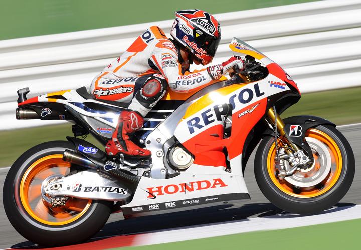 Marquez quickest in Misano Friday practice