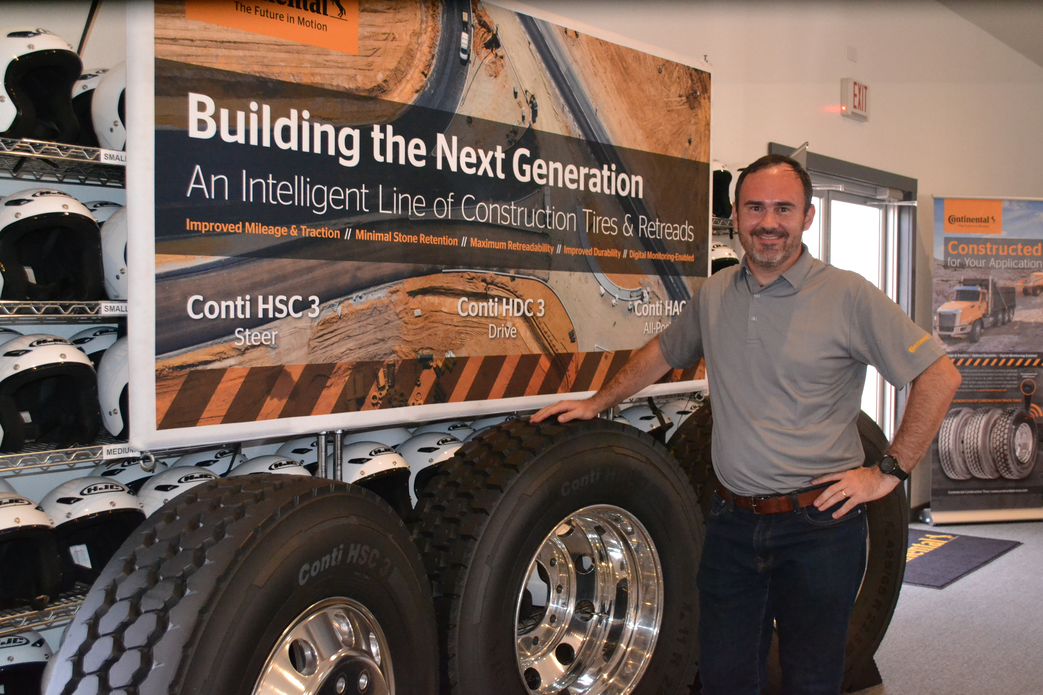 Continental Introduces 'Intelligent' Construction Tire Line