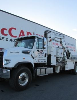McCarthy Tire Service has 604 service trucks in its 24/7 roadside service fleet.