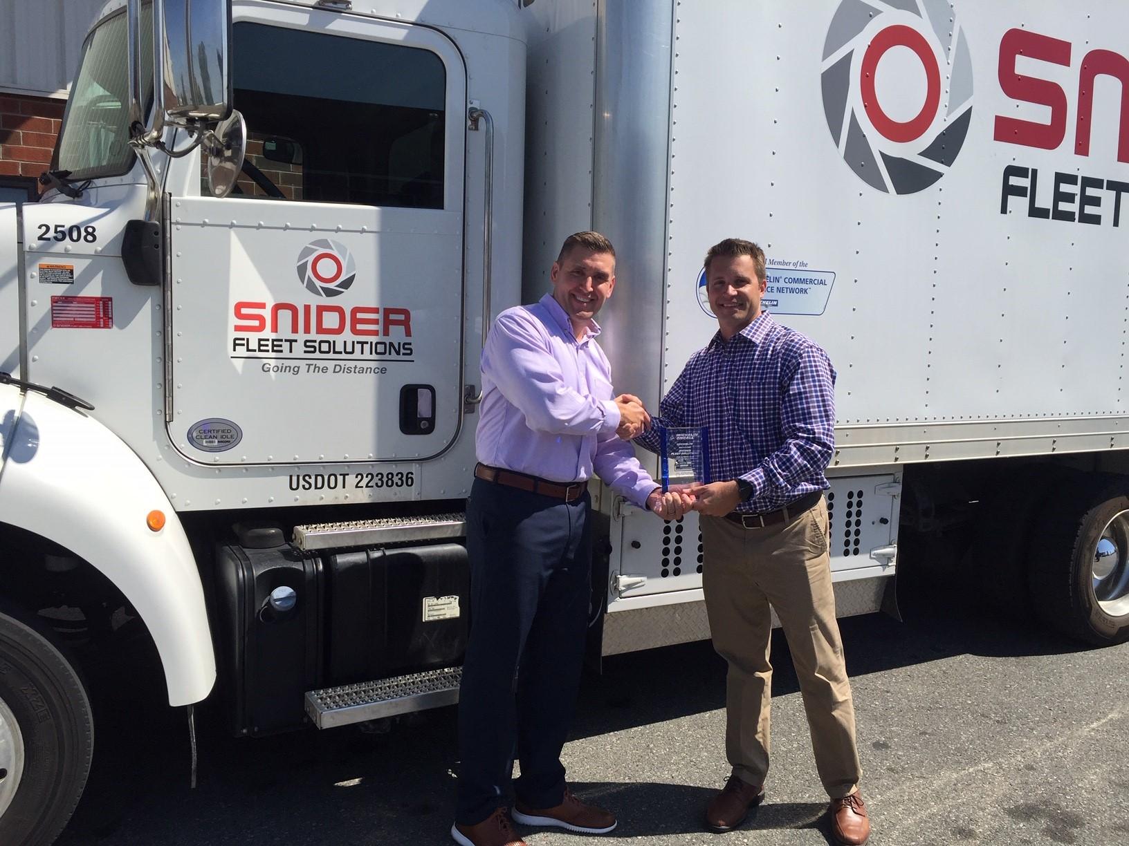 Michelin, Snider Celebrate 1.5 Millionth Service Call