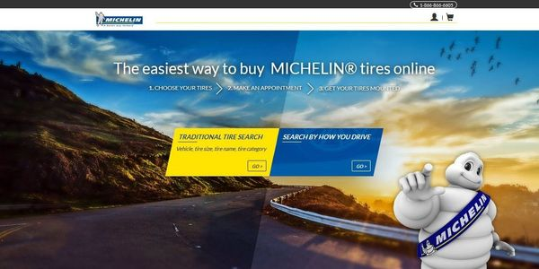 Michelin launched its online sales platform at MichelinMan.com at the end of 2016.