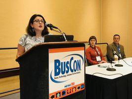Sacramento RT's Alva Carrasco discussed her agency's microtransit program.