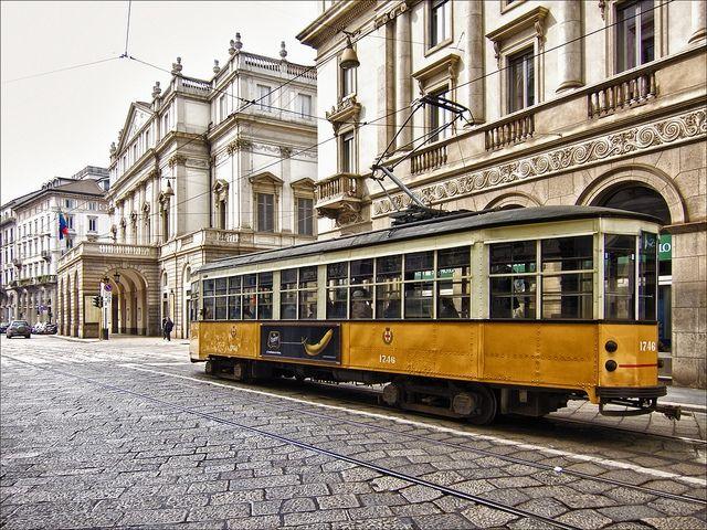 Milano Streetcar - Milan, Italy 2012 - Bert Kaufman - Flickr