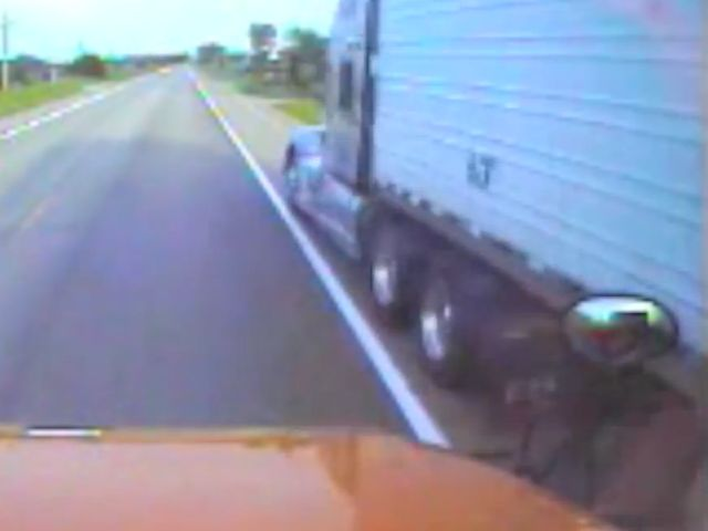 Trucker gets jail time for passing school bus on right