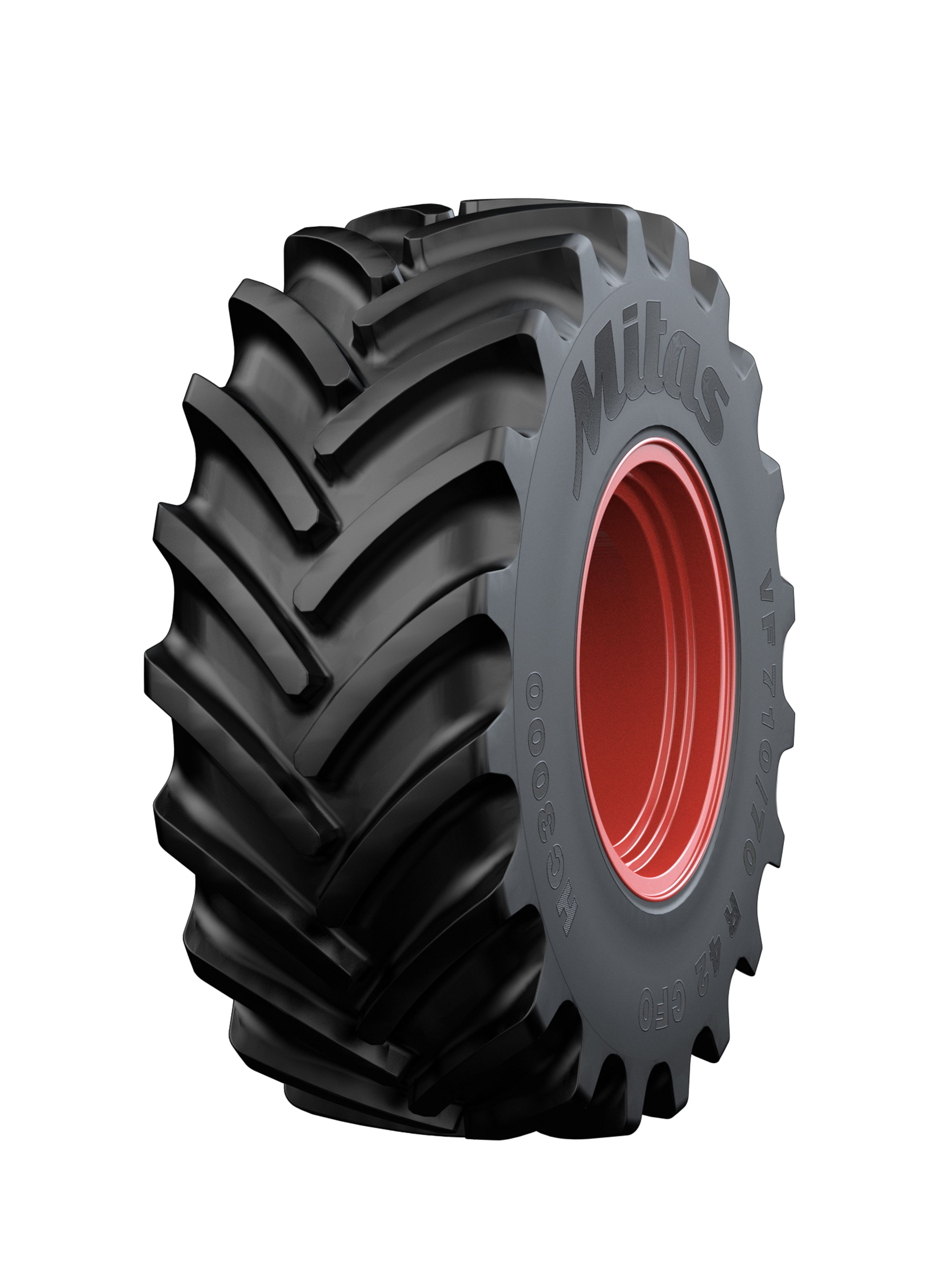 Mitas adds VF tire for harvesters