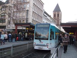 Modern streetcar in Cologne, Germany - shankar s. - 2007 - Flickr