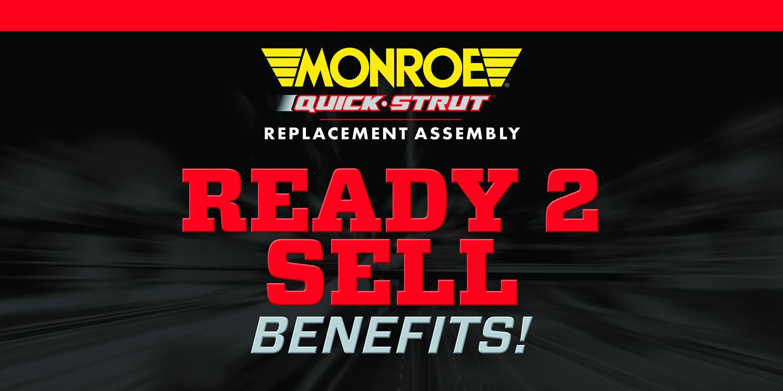 Counter Pros: Earn Cash Rewards for Monroe Strut Sales