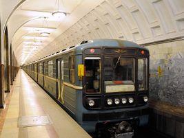 Moscow Metro train at Mayakovskaya station. Photo: Tim Adams/Flickr