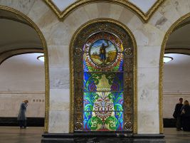 Novoslobodskaya station (Ring Line) Opened in January 1952 as part of the second stage of the...