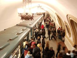 Moscow Metro. Photo: dhean021/Flickr