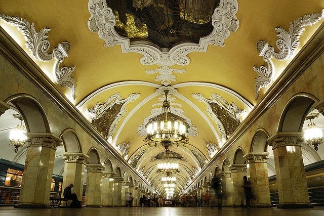 Moscow Metro. Photo: Arthur/Flickr