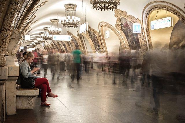 Moscow Metro. Photo: Caroline Jiang/Flickr