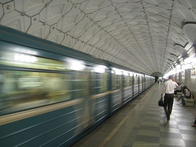 Moscow Metro. Photo: Chris Feser/Flickr