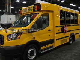 Thomas Built Buses showcased its new Type A school and activity bus, the Minotrek. The...