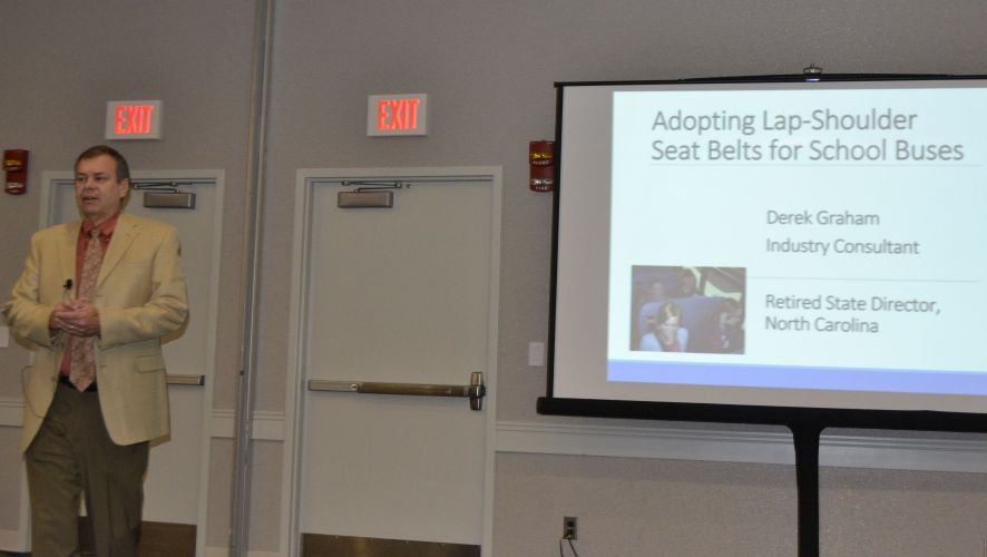 NAPT Session Examines Benefits of Seat Belts on School Buses