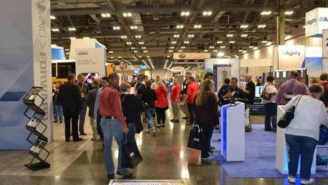 Many vendors at the 2017 National Association for Pupil Transportation trade show had new...