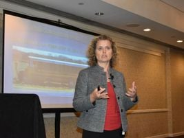 Kristin Poland, a deputy director at the NTSB, went over the results of a concussion study of...