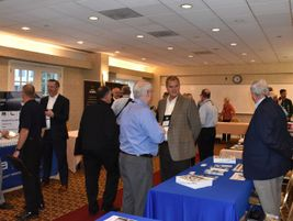 Attendees had the chance to get more information from industry suppliers during a networking event.