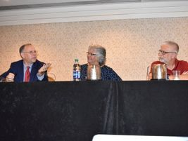 A roundtable featuring state directors (from left to right) Pat Schofill (Ga.), Susan Miller...