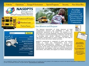 The state directors association says that its new site aims to provide its members and others in the pupil transportation community an improved, subject-based source of information.