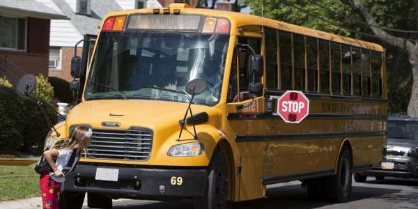 Federal statistics show that more students outside the school bus are killed by the bus itself...