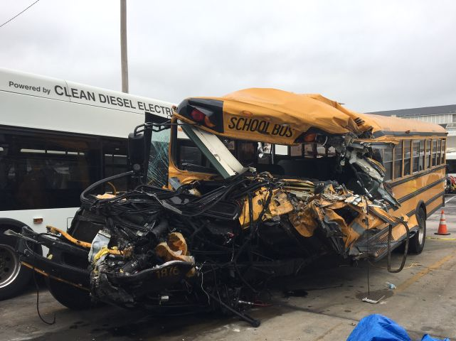NTSB Releases Full Report on Chattanooga and Baltimore School Bus Crashes