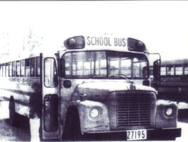 """This is bus 19 from Northwest Local School District in Ohio circa 1972. """"This bus is a 1972 IH..."""