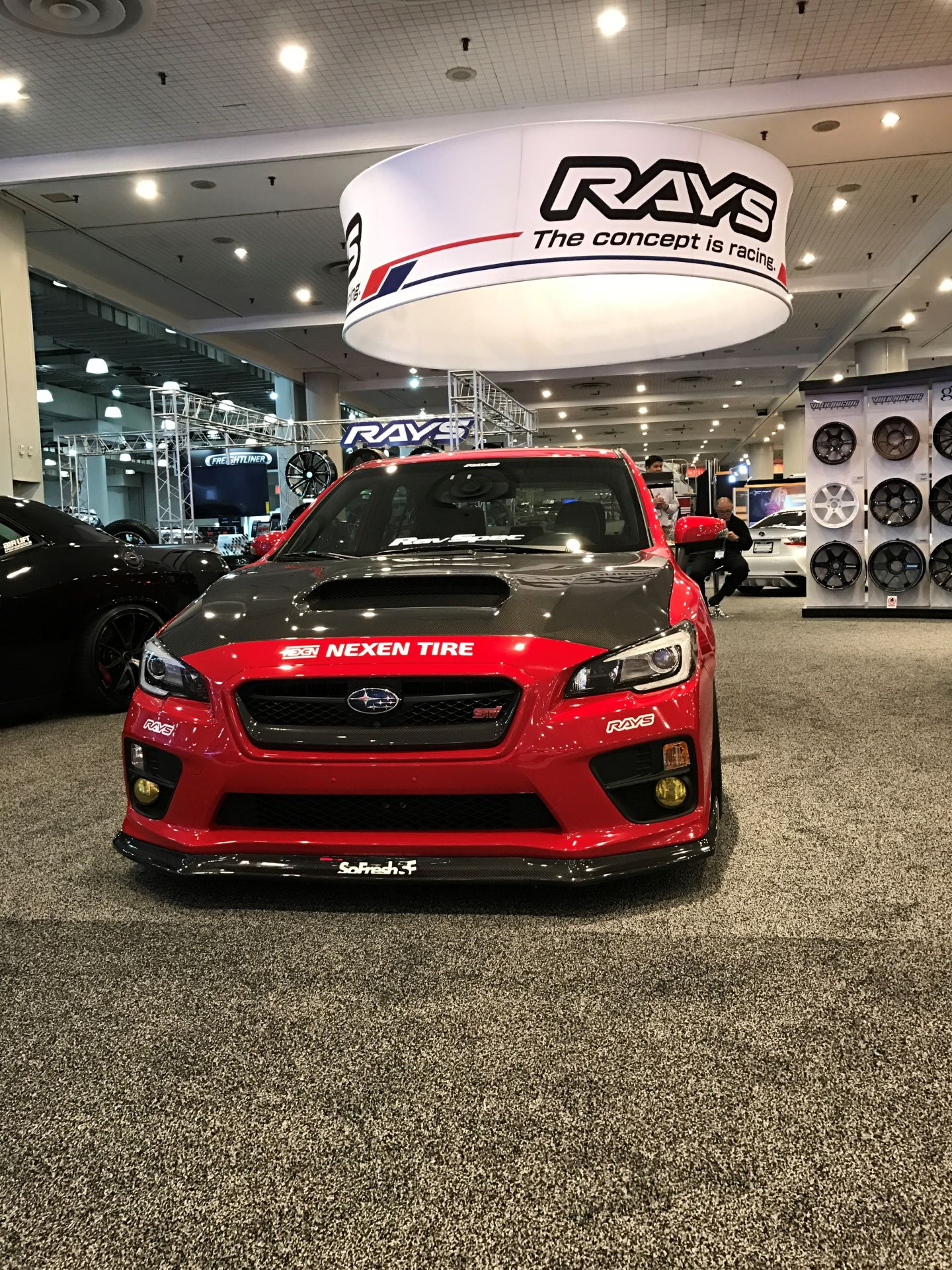 Nexen Partners With Rays Wheels Brand at New York Auto Show