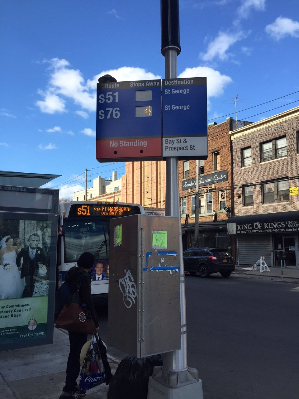 Project team wins award for N.Y. bus time displays