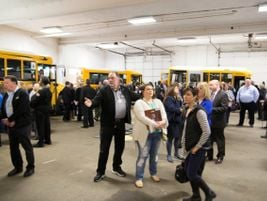Participants were given an idea of school bus driver training by going through five separate...