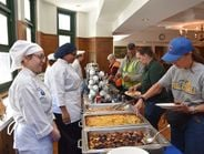 Ahead ofNational School Bus Safety Week, students in Lyons Township High School chef's class...