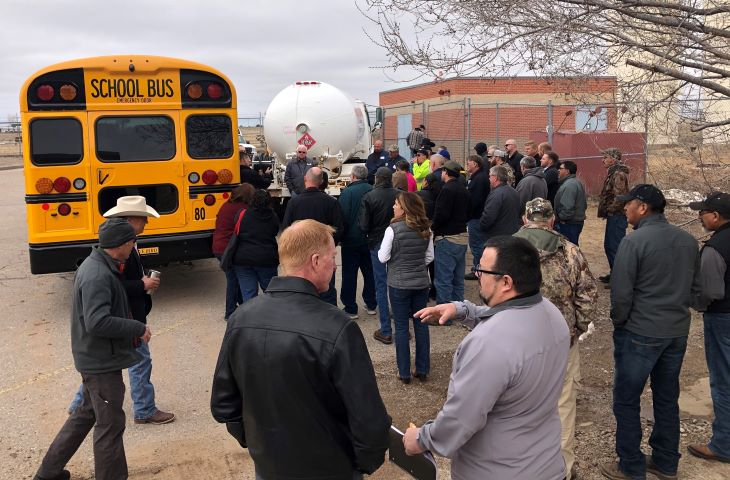 3 New Mexico Districts to Receive State's First Propane School Buses