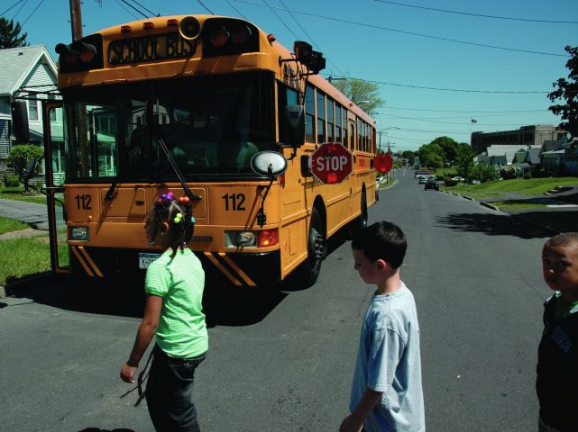 Police Target School Bus Passing for New York's Operation Safe Stop