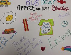 On Feb. 10, Balmville Elementary School in Newburgh, N.Y., hosted a special bus driver...