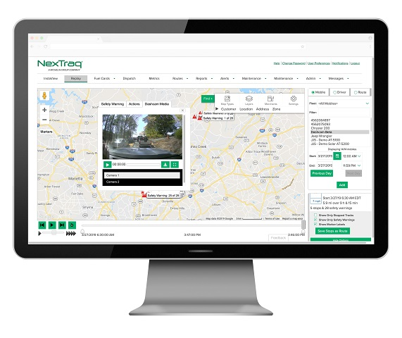 NexTraq Introduces Vehicle Incident Camera System