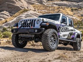 Nexen To Give Custom Jeep Gladiator to Purple Heart Veteran
