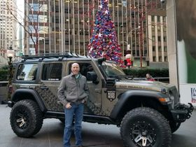 Nexen Presents Veteran With Custom Jeep