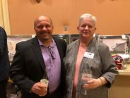 Two TIA past presidents: Glen Nicholson, 2015-2016, and Freda Pratt-Boyer, 2014-2015.