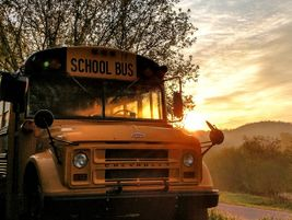 Also Noteworthy: Emerson Zentz of Bangor, Wis., captured this vintage Chevrolet school bus at...