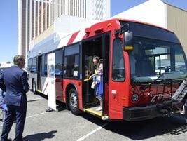 The Nova Bus LFS natural gas model is based on the proven LFS platform and integrates the latest...