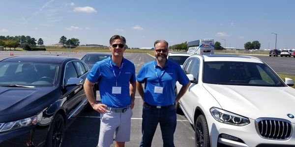 Sailun Tire Americas' Brian Mielko, vice president of sales, and Mark Pereira, marketing...